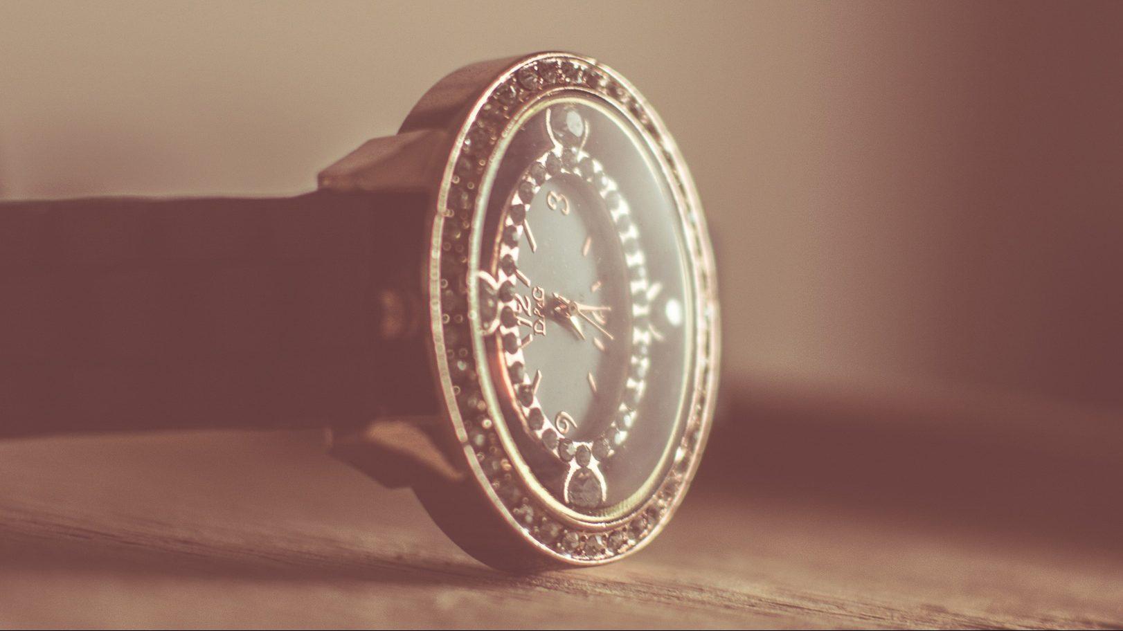 Die alte Ruhla-Armbanduhr