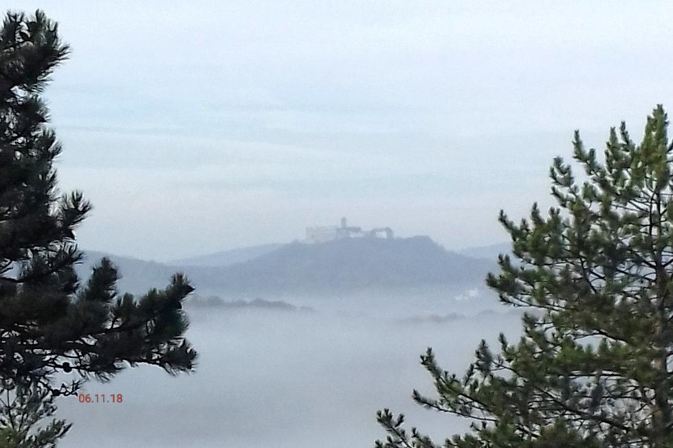 Nebel zieht ein